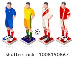 russia 2018 soccer world cup... | Shutterstock .eps vector #1008190867