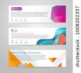 vector set of abstract design...   Shutterstock .eps vector #1008202357