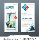 dl flyer design. template dl... | Shutterstock .eps vector #1008206797