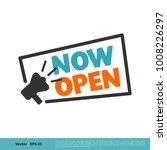 now open letter vector template   Shutterstock .eps vector #1008226297