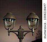 vintage looking  brushed brass... | Shutterstock . vector #1008228697