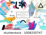 abstract universal art web... | Shutterstock .eps vector #1008250747