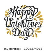 happy valentines day card... | Shutterstock .eps vector #1008274093