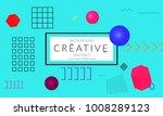 minimal universal banner...   Shutterstock .eps vector #1008289123