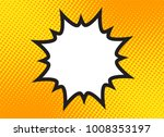 explosion steam bubble pop art... | Shutterstock .eps vector #1008353197
