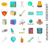 engineering manager icons set.... | Shutterstock .eps vector #1008354307