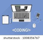 flat design style modern vector ... | Shutterstock .eps vector #1008356767