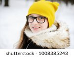 stylish pre teen girl 10 12... | Shutterstock . vector #1008385243