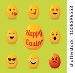 decorative eggs for happy... | Shutterstock .eps vector #1008396553