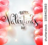 happy valentines day vector... | Shutterstock .eps vector #1008402883
