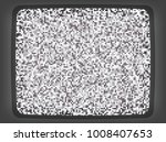 vector vhs grey intro screen of ... | Shutterstock .eps vector #1008407653