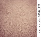 Pink paisley background/texture - stock photo