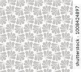 vector floral art nouveau... | Shutterstock .eps vector #1008424897