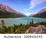 bennett lake  in the yukon... | Shutterstock . vector #1008426193