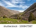 mountain landscape. ala archa ... | Shutterstock . vector #100847587