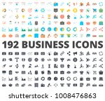business flat silhouette icon | Shutterstock .eps vector #1008476863