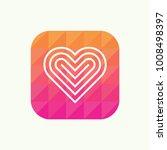 valentine day lovely line icon. ... | Shutterstock .eps vector #1008498397