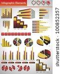 infographic vectors | Shutterstock .eps vector #100852357