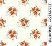 seamless vector ornamental... | Shutterstock .eps vector #1008537373