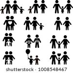 family size and type of... | Shutterstock .eps vector #1008548467