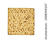 Small photo of Matzah used during the Jewish Passover holidays