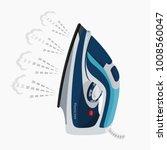 abstract model of a modern... | Shutterstock .eps vector #1008560047