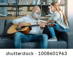 her first serenade. beautiful... | Shutterstock . vector #1008601963