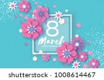 violet happy womens day. violet ... | Shutterstock .eps vector #1008614467