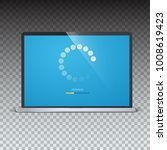 load bar for mobile apps  web... | Shutterstock .eps vector #1008619423