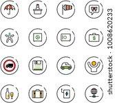 line vector icon set   vector ... | Shutterstock .eps vector #1008620233