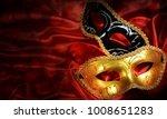 traditional carnival venetian...   Shutterstock . vector #1008651283