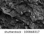 Black Wall Stone Texture