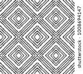 black and white seamless ethnic ... | Shutterstock .eps vector #1008694147