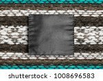 blank textile clothes label on...   Shutterstock . vector #1008696583