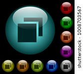 overlapping elements icons in... | Shutterstock .eps vector #1008703567