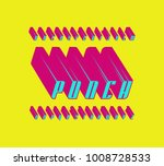 decorative italic sans serif...   Shutterstock .eps vector #1008728533