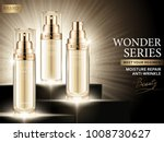 moisture repair ads  cosmetic... | Shutterstock .eps vector #1008730627