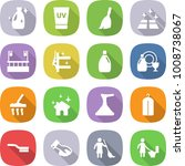 flat vector icon set   cleanser ... | Shutterstock .eps vector #1008738067
