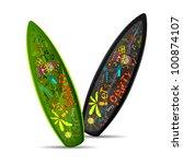 illustration of colorful doodle ...   Shutterstock .eps vector #100874107