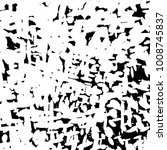 halftone dots stains chaos... | Shutterstock .eps vector #1008745837