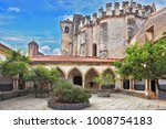 the imposing medieval castle  ... | Shutterstock . vector #1008754183