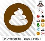 shitcoin icon with bonus casino ... | Shutterstock .eps vector #1008754837