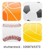 simple sport icons   vector | Shutterstock .eps vector #1008765373