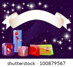 holiday background with a... | Shutterstock .eps vector #100879567