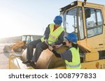 couple of workers taking a... | Shutterstock . vector #1008797833