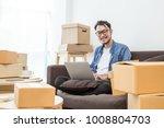 start up small business... | Shutterstock . vector #1008804703