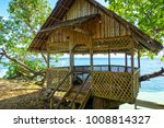 native style beach hut on alona ... | Shutterstock . vector #1008814327