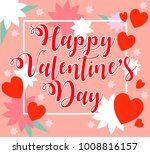 illustration for valentine's... | Shutterstock . vector #1008816157
