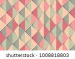 pink green mint retro pattern.... | Shutterstock .eps vector #1008818803