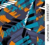 abstract seamless grunge...   Shutterstock .eps vector #1008851527
